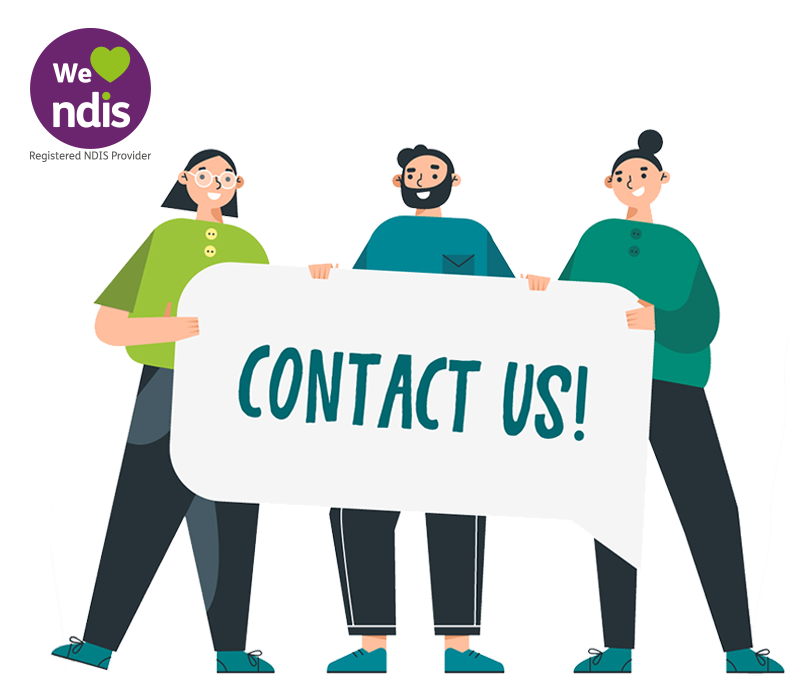 """alt=""""three-person-holding-giant-sign-that-says-contact-us-illustration"""""""